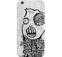 Dissolving Figure #2 iPhone Case/Skin