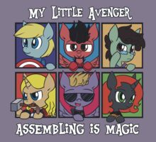 My Little Avenger by ecokitty