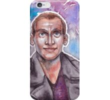 9th Doctor Watercolor iPhone Case/Skin