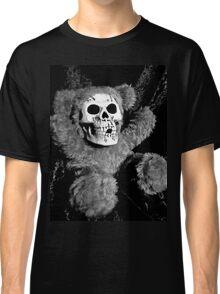 Skull Faced Teddy Bear Classic T-Shirt