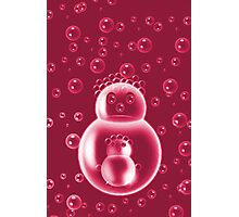 ❀◕‿◕❀REDBUBBLE MOM AND BABY BUBBLE #2❀◕‿◕❀ Photographic Print