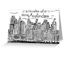Nieuw Amsterdam Greeting Card