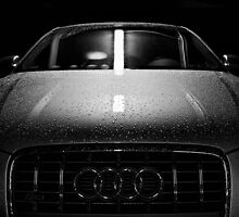 Audi s3, wet head grill by Michal Tokarczuk