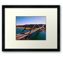 360 Bridge Framed Print