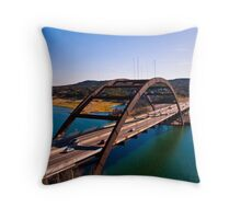 360 Bridge Throw Pillow