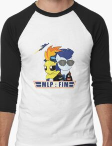Fly With Us Men's Baseball ¾ T-Shirt