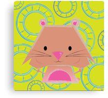 Mimalitos - Hamster Canvas Print