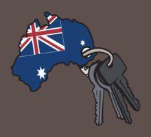 Keys to Australia  Baby Tee