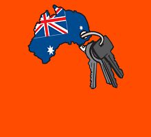 Keys to Australia  Unisex T-Shirt