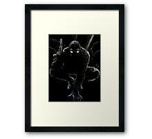 Spider-Man Noir Framed Print