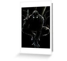 Spider-Man Noir Greeting Card