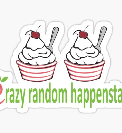 Dr. Horrible Crazy Random Happenstance Sticker