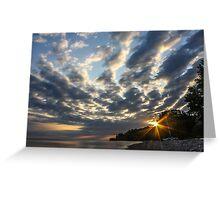 Sunrise Sky Greeting Card