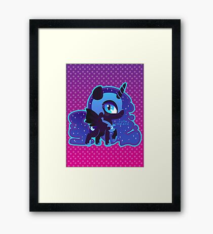 Nightmare Moon Framed Print