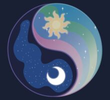 Celestia/Luna Yin Yang Subtle Brony Symbol by nimaru