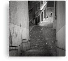 Stairs - Zurich, Switzerland Metal Print
