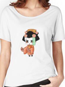 Chibi Lady Daidai Women's Relaxed Fit T-Shirt