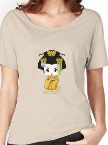 Chibi Lady Kiiro Women's Relaxed Fit T-Shirt
