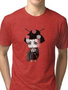 Chibi Lady Kuro Tri-blend T-Shirt