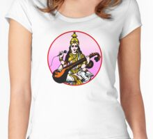 Sarasvati Now Women's Fitted Scoop T-Shirt