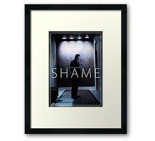 Steve McQueen's Shame Framed Print