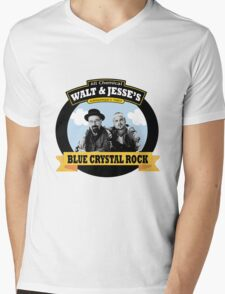 WALT AND JESSE'S Mens V-Neck T-Shirt