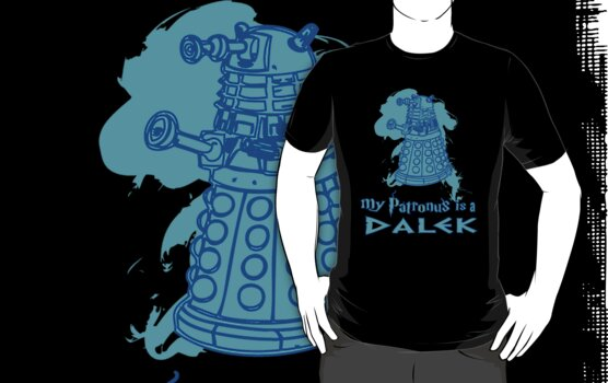 My Patronus is a Dalek by Brantoe