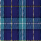 00460 The Blue Knights Tartan Fabric Print Iphone Case by Detnecs2013