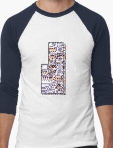 Missingno. Men's Baseball ¾ T-Shirt