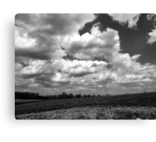 The sky speaks volumes Canvas Print