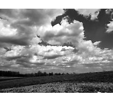 The sky speaks volumes Photographic Print