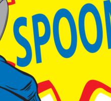 The Tick Spoon! Sticker