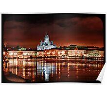Helsinki - Tuomiokirkko Poster