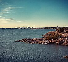 Helsinki - view from Suomenlinna by Michal Tokarczuk