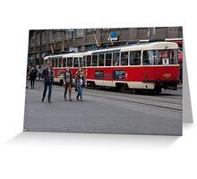 City Transit Greeting Card