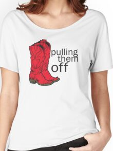 How I met your mother Pulling them off Women's Relaxed Fit T-Shirt