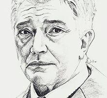 Martin Shaw by Julia  Clarke