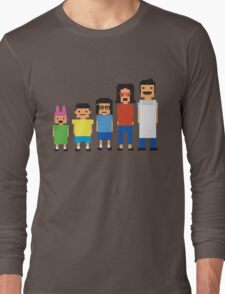 8-Bit Burgers Long Sleeve T-Shirt