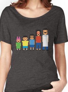 8-Bit Burgers Women's Relaxed Fit T-Shirt