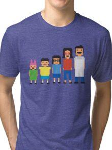 8-Bit Burgers Tri-blend T-Shirt
