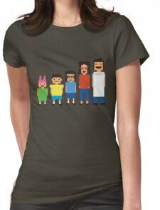 8-Bit Burgers Womens Fitted T-Shirt