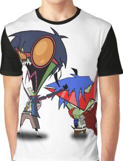 Invader Zim / Gurren Lagann Graphic T-Shirt
