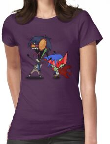 Invader Zim / Gurren Lagann Womens Fitted T-Shirt