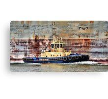 Svitzer Meringa Tug - Newcastle Harbour NSW Australia Canvas Print