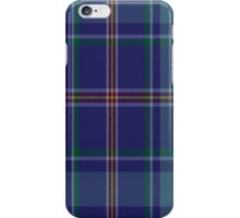 00464 Blue Ridge Highlands Heritage District Tartan Fabric Print Iphone Case iPhone Case/Skin