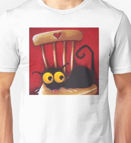 Stressie Cat's chair Unisex T-Shirt