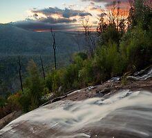 Wilhelmina Falls Sunset by Travis Easton