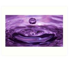 Water droplet Art Print