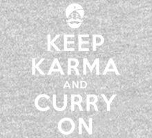 Keep Karma And Curry On Kids Clothes