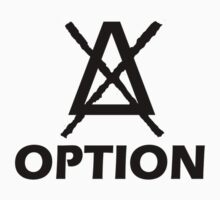 Option Simple logo black by tnoteman557
